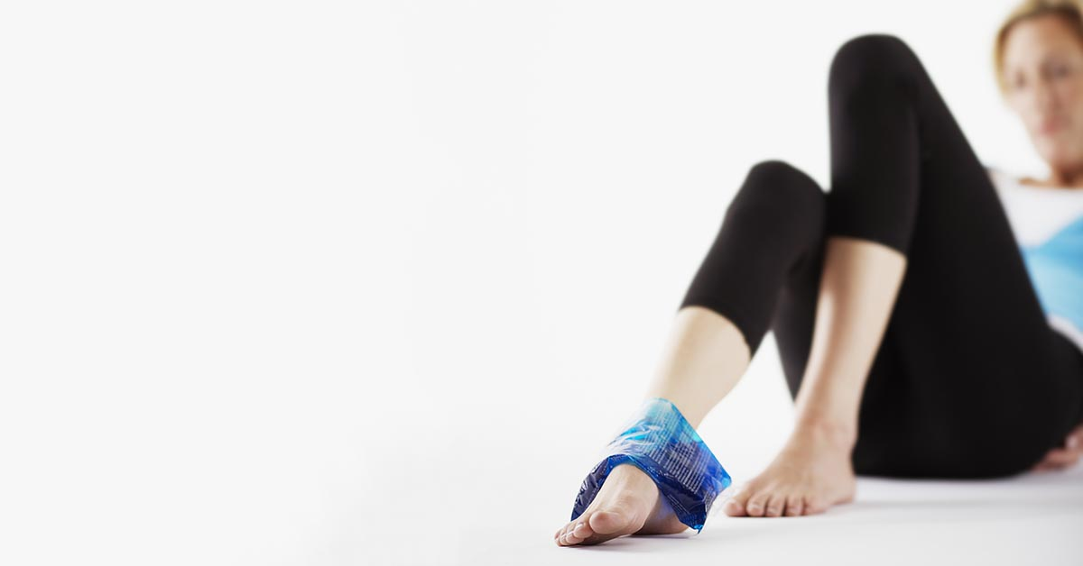Hazleton, Conyngham natural ankle sprain treatment